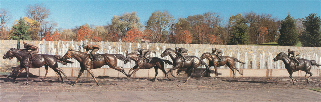 The Thoroughbred Park Sculpture Collection