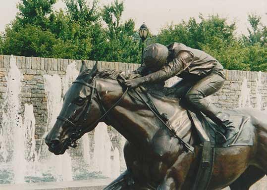 Lifesize Sculptures, Gwen Reardon, Equine Artist, Lexington, KY